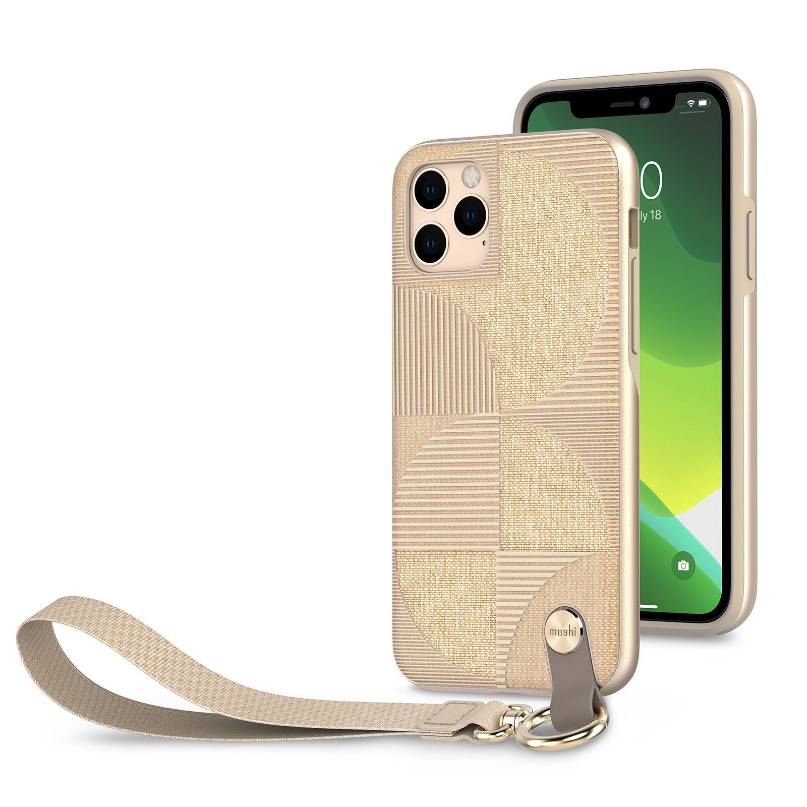 Чехол Moshi Altra Slim Case with Wrist Strap Sahara Beige for iPhone 11 Pro Max (99MO117305)