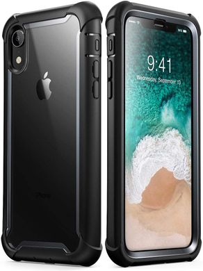 Чехол i-Blason Ares Series Clear Case for iPhone XR - Black (IBL-IPHXR-ARS-BK), цена | Фото