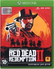 Игра Xbox One Red Dead Redemption 2 [Blu-Ray диск], цена | Фото