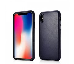 Чохол iCarer Original Genuine Leather Case for iPhone Xs Max - Red, ціна | Фото