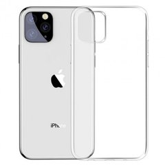 Силиконовый чехол Baseus Simple Series Case for iPhone 11 Pro - Clear (ARAPIPH58S-02), цена | Фото
