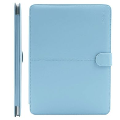 Чехол Mosiso PU Leather Book Case for MacBook Pro Retina 13' (2012-2015) - Airy Blue, цена | Фото