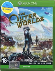 Игра Xbox One The Outer Worlds [Blu-Ray диск], цена | Фото