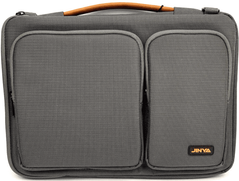Сумка JINYA Vogue Plus Sleeve for MacBook 13.3 inch - Gray (JA3018), цена | Фото