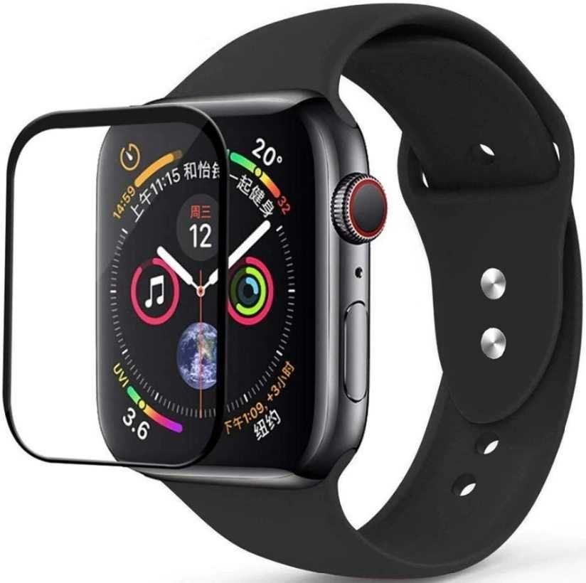 Защитное стекло STR Tempered 4D Glass for Apple Watch 4 Series - 44 mm