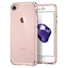Чехол Spigen для iPhone 8/7 Ultra Hybrid 2 Rose Crystal, цена | Фото